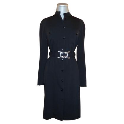 Versace Black dress with belt