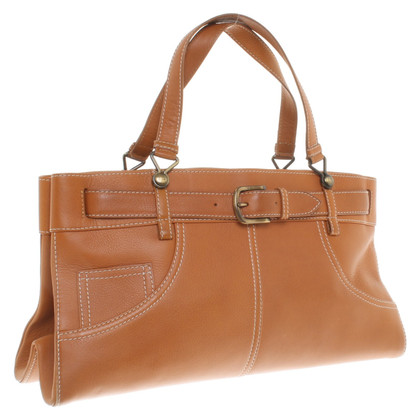 Christian Dior Handbag in cognac