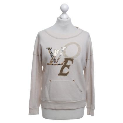 Louis Vuitton Maglione in crema