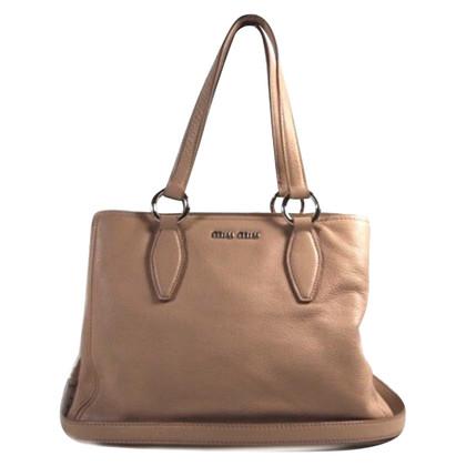 Miu Miu Handtasche in Rosé