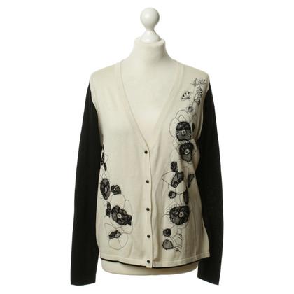 Max Mara Vest trui met bloemmotief