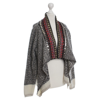Hoss Intropia Cardigan met etno-element