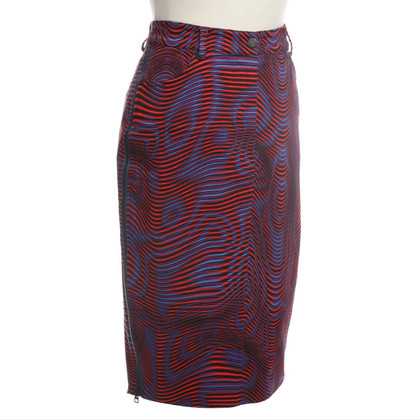 Opening Ceremony MIDI skirt tricolor