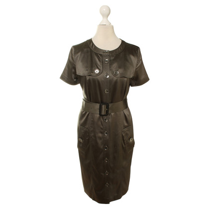 Burberry Shirt dress in olive