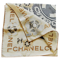 Chanel silk scarf