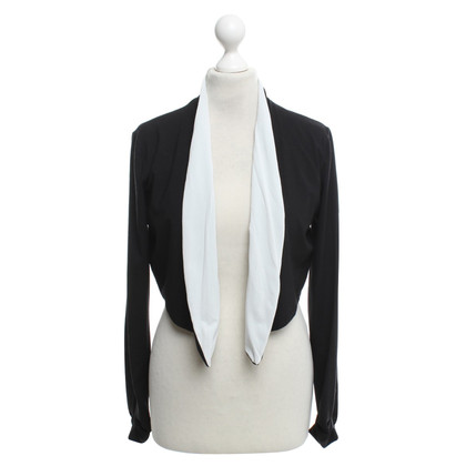 Marc Cain Bolero in black and white