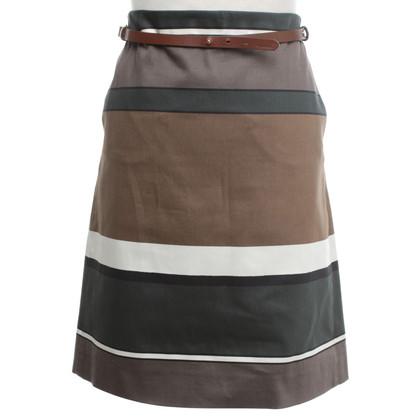 Max Mara skirt with color blocking