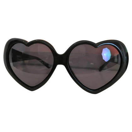 Moschino Heart shaped sunglasses