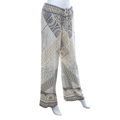 Hale Bob Lightweight trousers with pattern mix