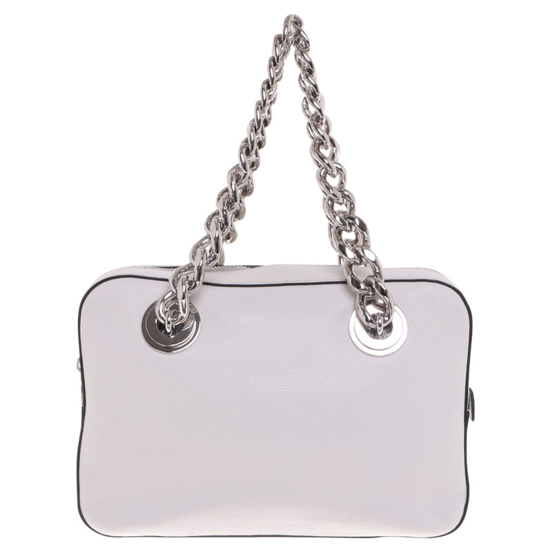 90facd709f france prada shoulder bag in cream 556ac f1857