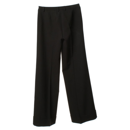 Piu & Piu Black suit trousers