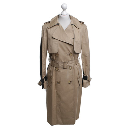Erdem Trenchcoat in beige / black