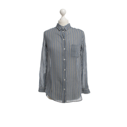 Ganni Blouse with stripe pattern