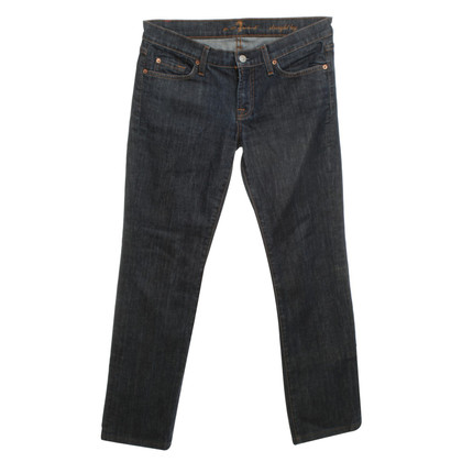 7 For All Mankind Jeans bleu foncé