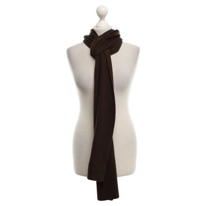Brunello Cucinelli Kasjmier sjaal in bruin