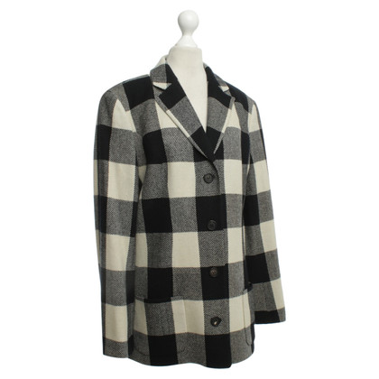 Iris von Arnim Checkered Blazer