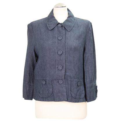 Hobbs Linen jacket in blue