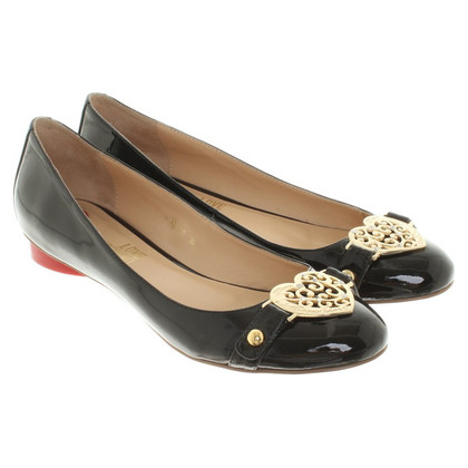 Moschino Love Ballerine in nero