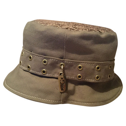 Christian Dior Cappello in kaki