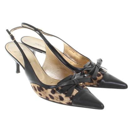 Dolce & Gabbana Slingback pumps met dierlijke ontwerp