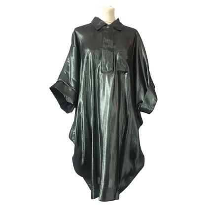 Lanvin Kleid in dunklem Grün