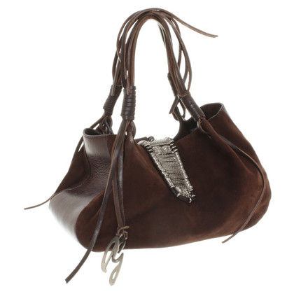 Dolce & Gabbana Suede handbag in brown