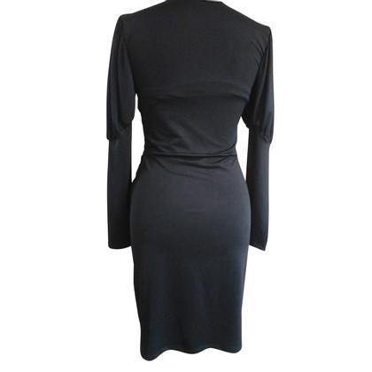 Roberto Cavalli Schwarzes Kleid