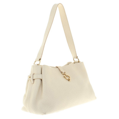 Salvatore Ferragamo Cream colored handbag