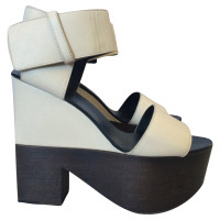 Céline Leather sandals