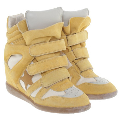 Isabel Marant Wedges in Gelb