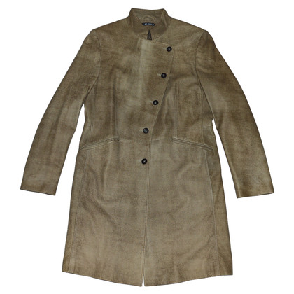St. Emile Leather coat in Brown