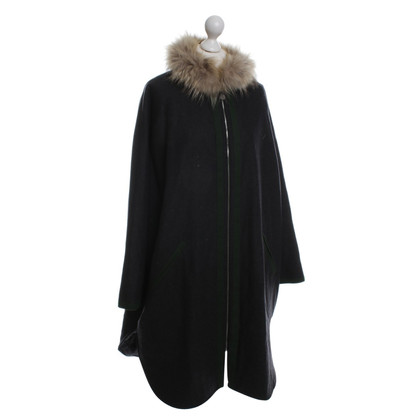 Other Designer Sportalm - Cape with fur collar