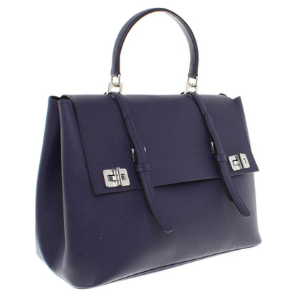 Prada Leather handbag in purple