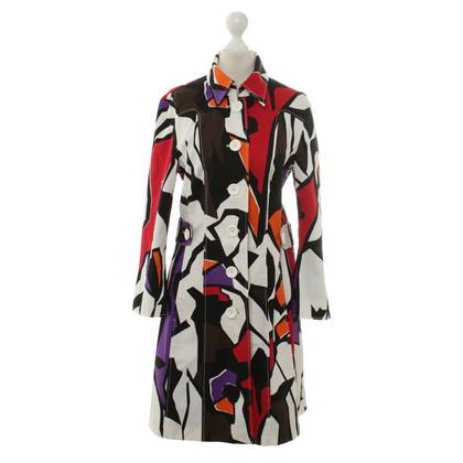 Marc Cain Autumn coat in multi colored