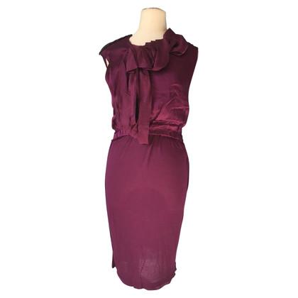 Lanvin Sleeveless dress in Bordeaux