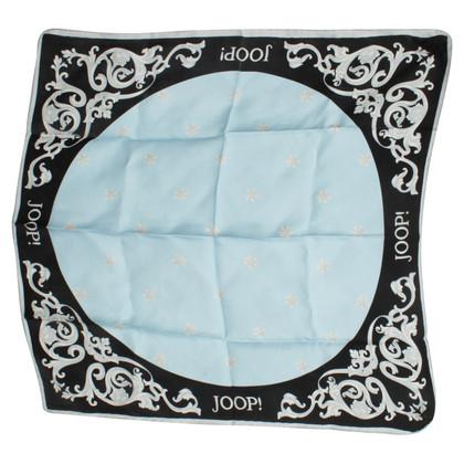 JOOP! Silk scarf print