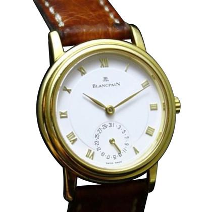 "Blancpain Clock ""Villeret Automatic Data 18K Gold"""
