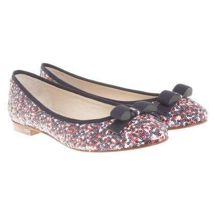 Christian Dior Ballerina's met pailletten