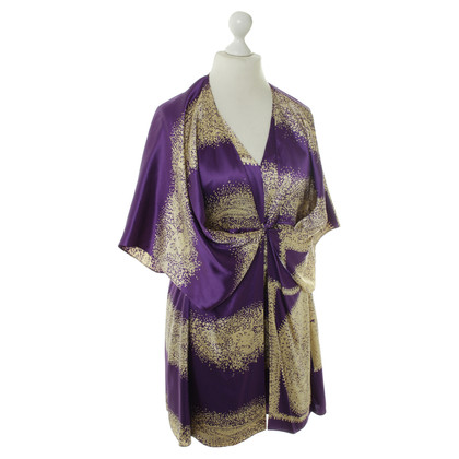 Paul & Joe Kimono dress in purple
