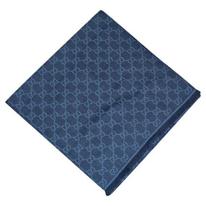 Gucci Guccissima-Tuch in Blau