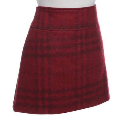 Burberry Wool skirt with pattern