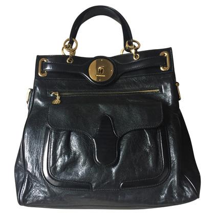 Balenciaga Schwarze Lederhandtasche