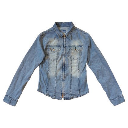 Closed Denim blouse met rits