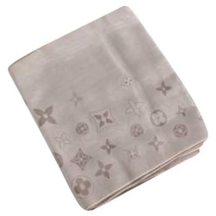 Louis Vuitton Sciarpa in seta con motivo monogram