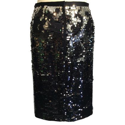 Dolce & Gabbana Sequin skirt in black