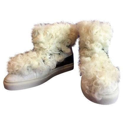 Kennel & Schmenger Sneakers met lamsvel