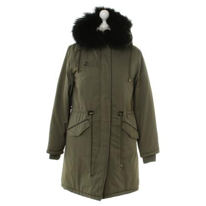 Other Designer Parka with fur trim