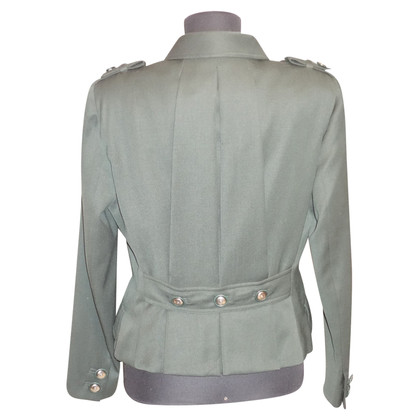 Gianni Versace Blazer in verde scuro