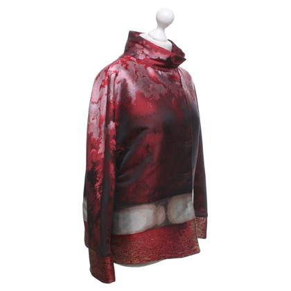 Alberta Ferretti Wattierte Jacke in Multicolor