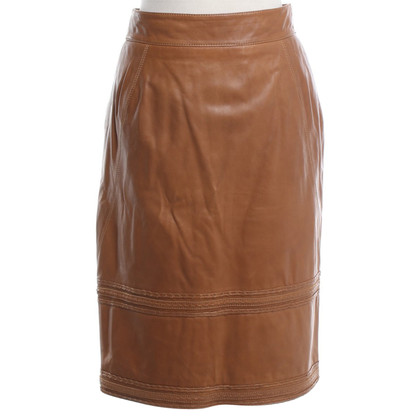 Escada skirt made of leather